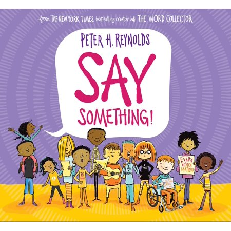 Say Something (Hardcover) - Something That Says Happy Halloween