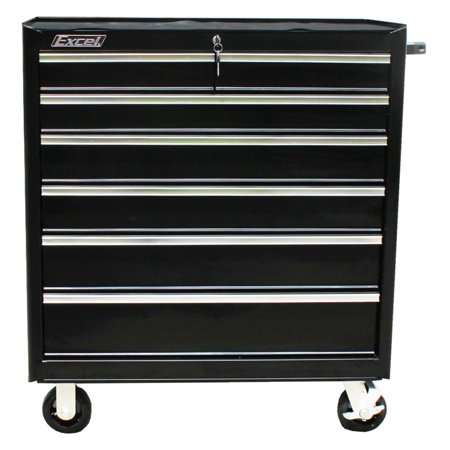Excel 36 in. 6 Drawer Roller Tool Cabinet