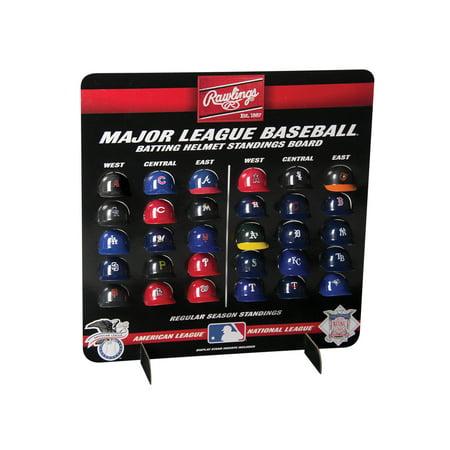 Rawlings MLB Micro Pack Batting Helmets (Best Baseball Bat For 9 10 Year Old)