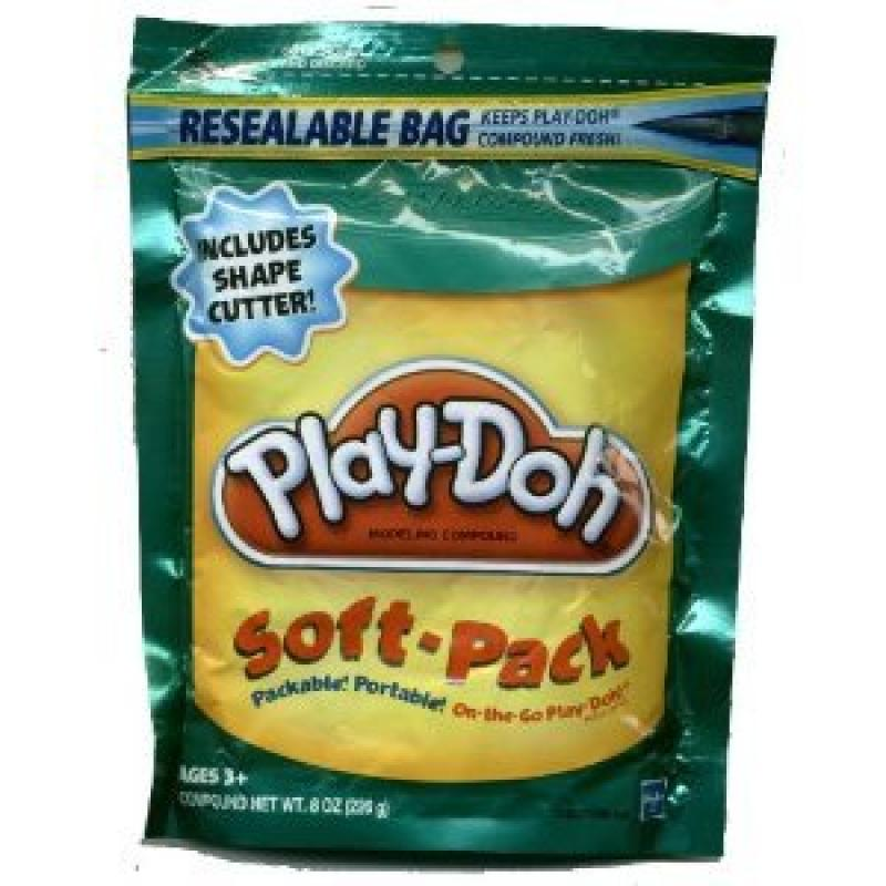 Play-Doh Soft Pack and 1 Shape Cutter - Teal