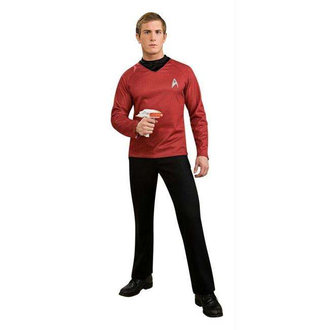 Costumes For All Occasions Ru889119Xl Star Trek Movie Dlx Red Shirt