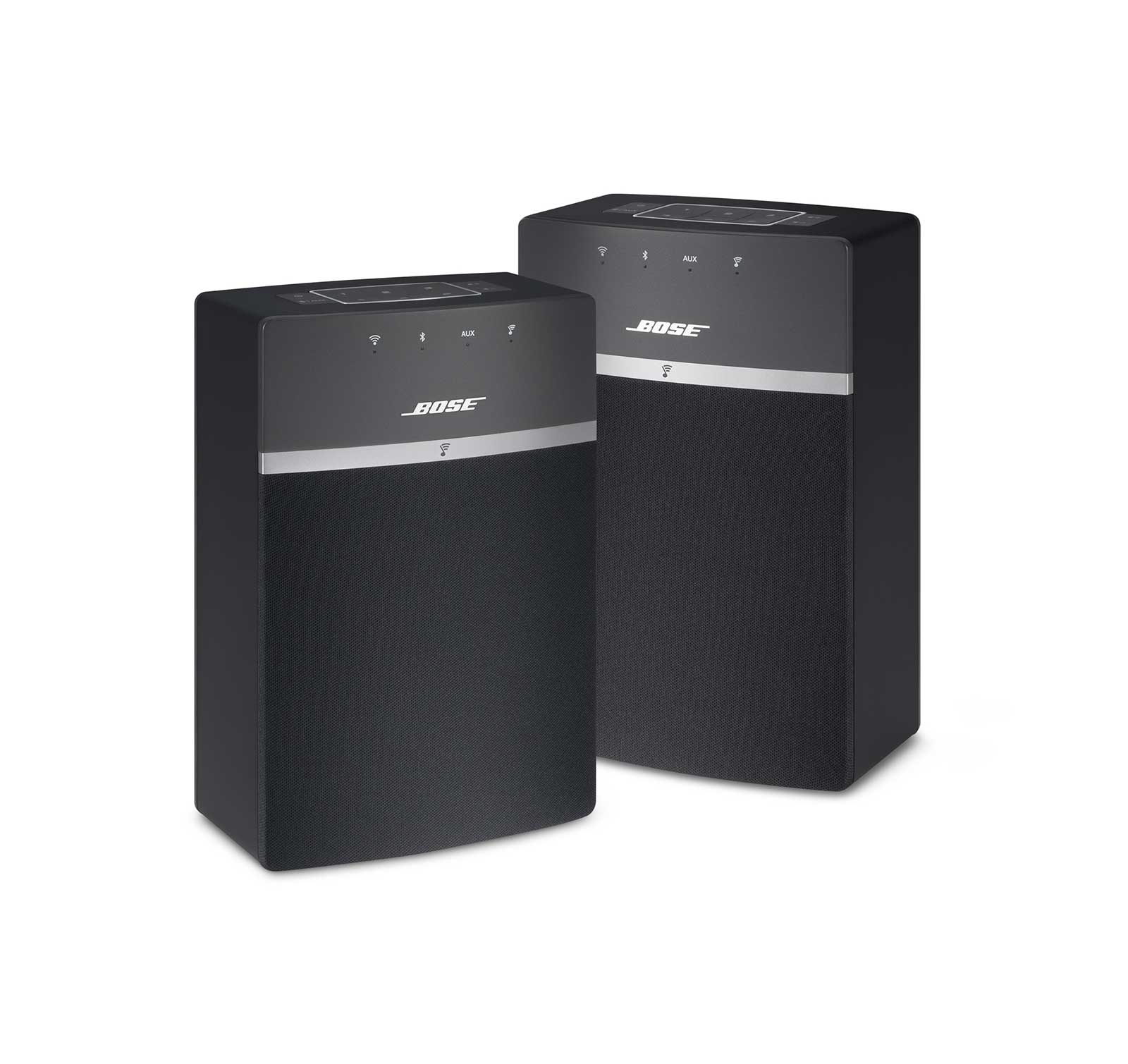 Bose SoundTouch 10x2 Black Wi-Fi Music System Starter Pack by Bose