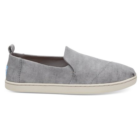 timeless design 5df6f ef946 Toms 10011739: Alpargata Womens Drizzle Grey/Washed Twill Sneaker