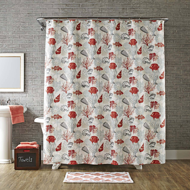 Better Homes & Gardens Aquascape Shower Curtain