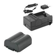 Panasonic Lumix DMC-FZ35 Digital Camera Accessory Kit includes: SDCGAS006 Battery, SDM-162 Charger