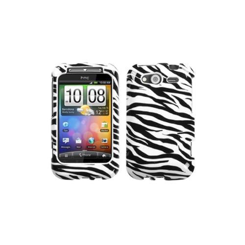 Insten Zebra Skin Phone Case for HTC: Wildfire S (GSM), Wildfire S (CDMA)