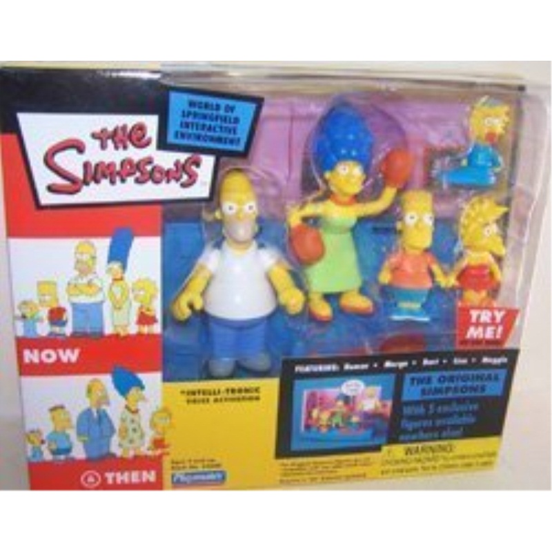 2003 Playmates The Simpsons World Of Springfield Interactive