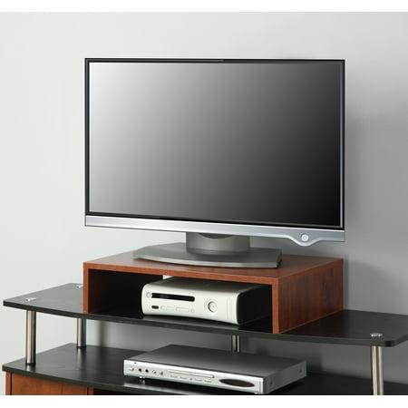 Oak Coaster - Convenience Concepts Designs2Go Small TV/Monitor Riser