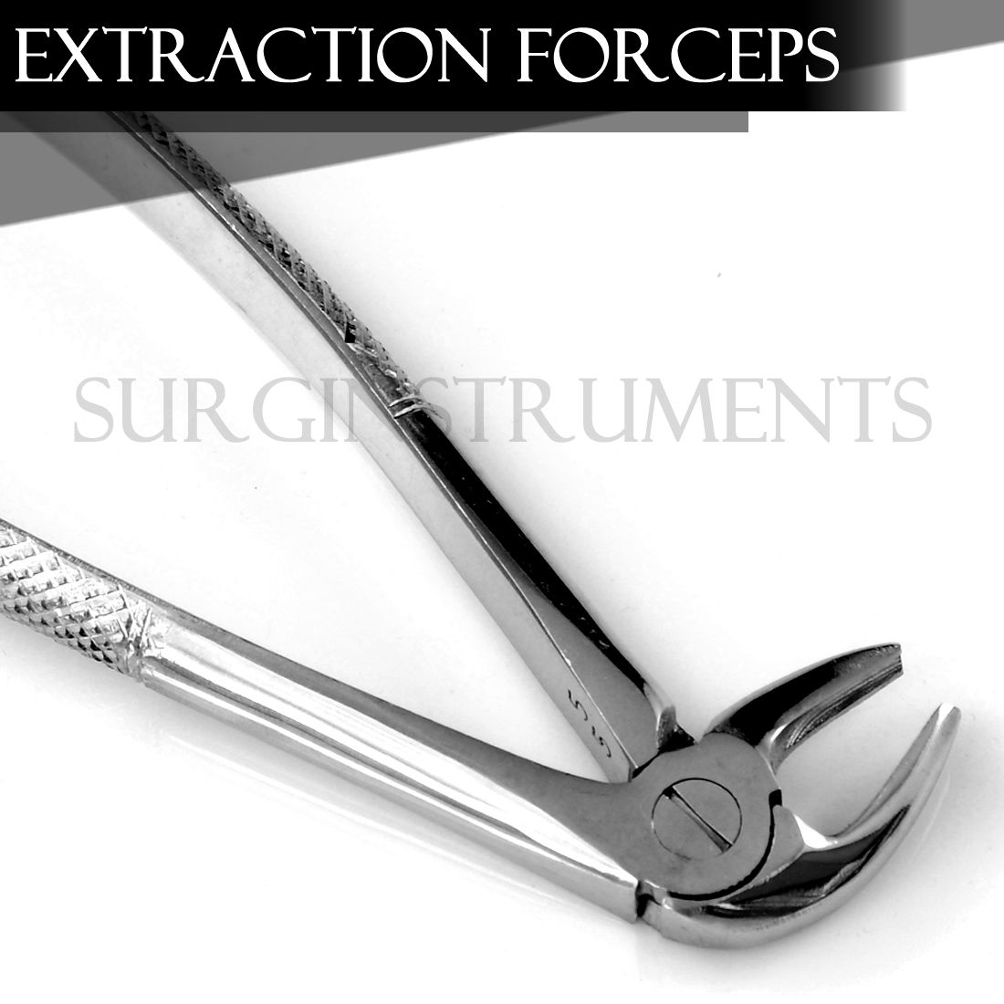 Pedo Extracting Forceps Dental Surgical Instruments # MD3