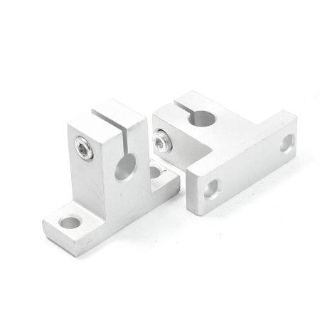 Unique Bargains 2 x SK8 8mm Linear Rail Shaft Guide Support for XYZ Table CNC (Linear Guide Cnc)