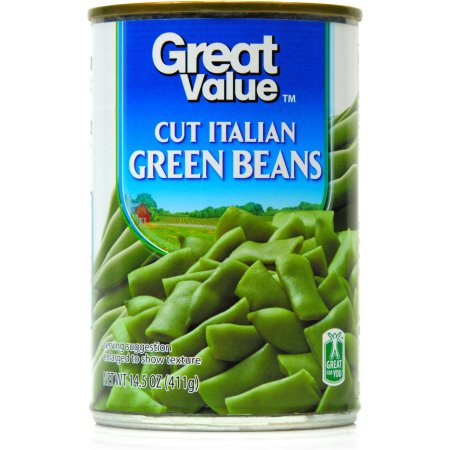 Great Value Cut Italian Green Beans, 14.5 Oz