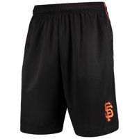 San Francisco Giants Majestic Mesh Shorts - Black