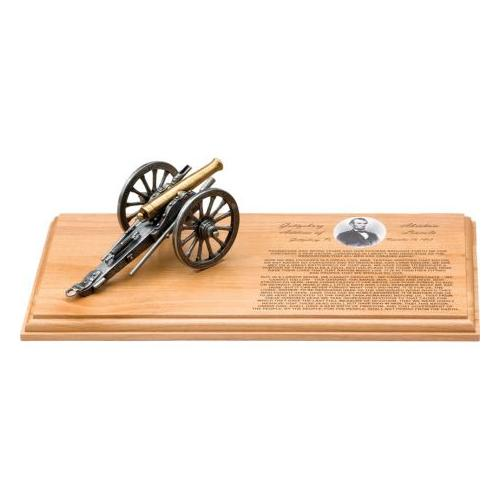 Denix Gettysburg Address Cannon Set DX215