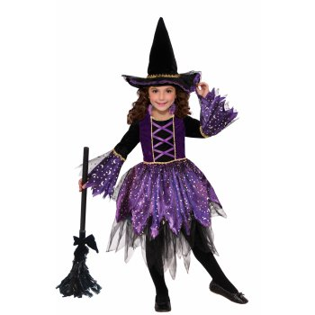 CHCO-MYSTIC AMETHYST WITCH-LRG - Halloween History Witches