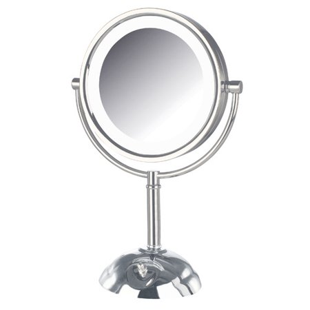 Jerdon Dual Sided Lighted Led Vanity Mirror Walmart Com