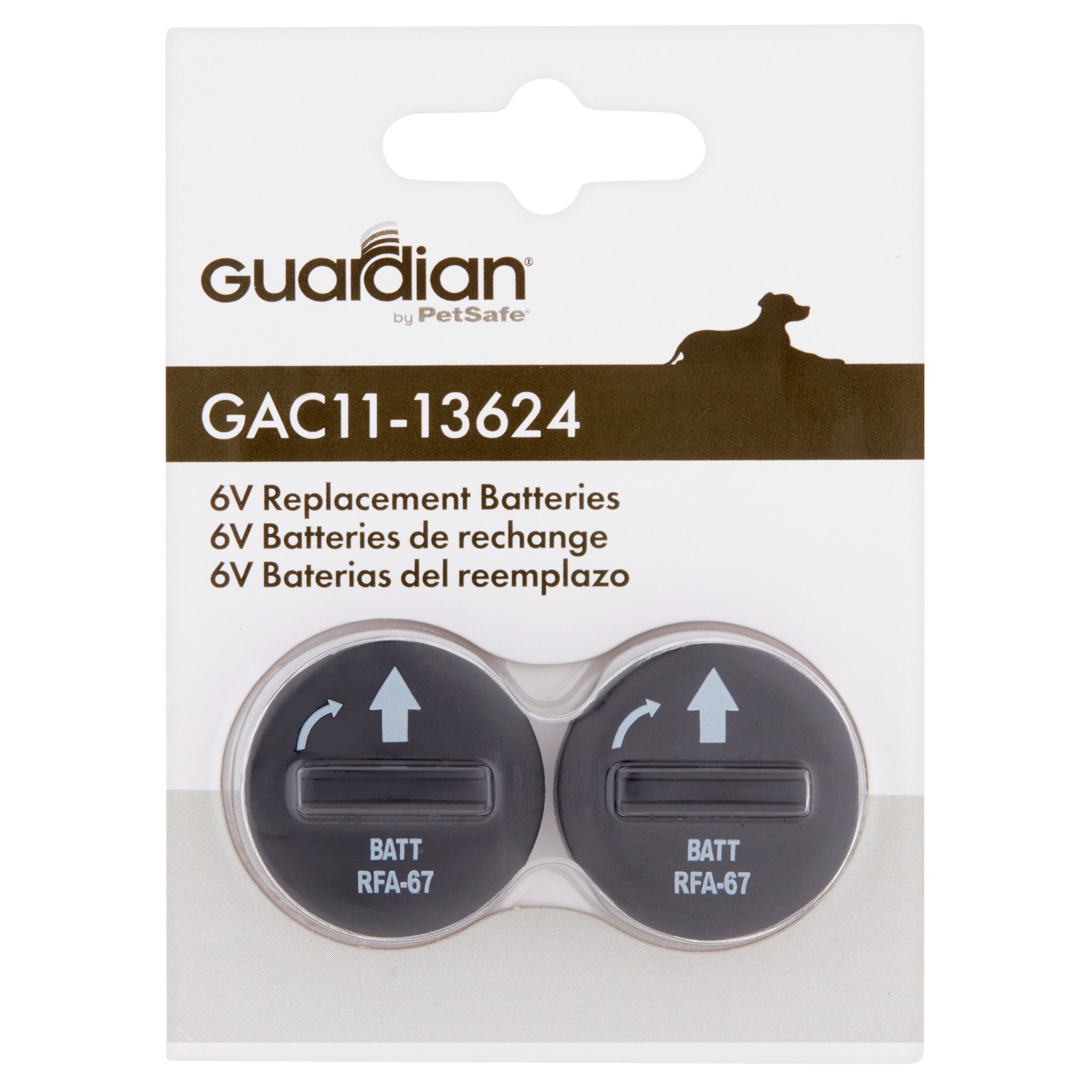 Guardian 6-Volt Replacement Batteries, 2-Pack