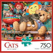 Buffalo Games - Cats Series - The Toy Cabinet - 750 Piece Jigsaw Puzzle