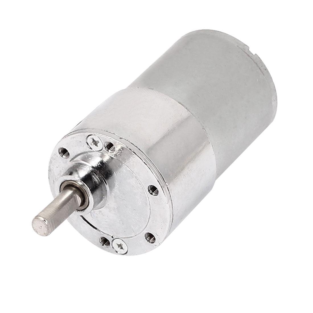 DC 12V 150RPM 6mm Shaft 37mm Body Dia Cylinder Shape Gear Box Motor - image 2 of 2