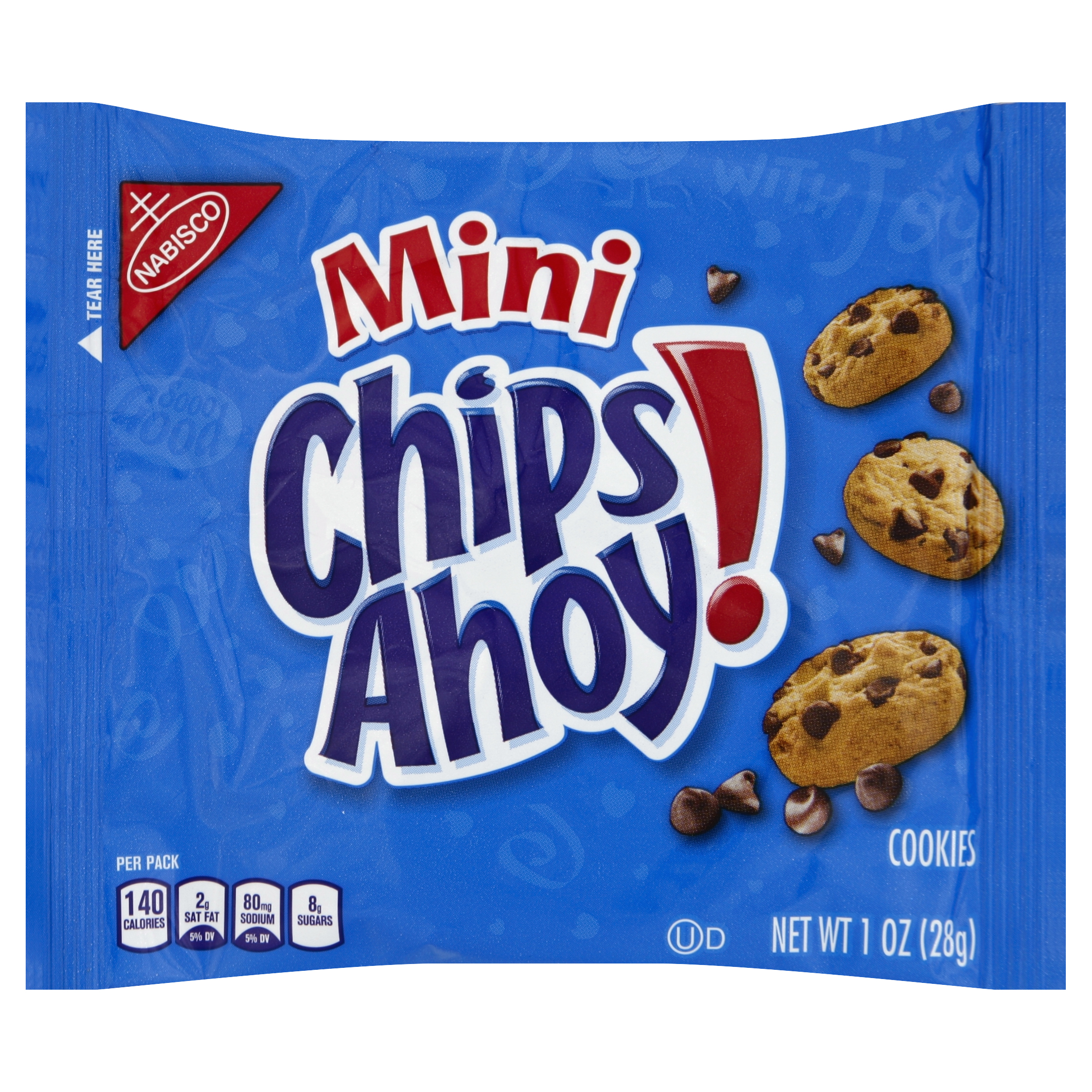 Nabisco Mini Chips Ahoy! Cookies Singles