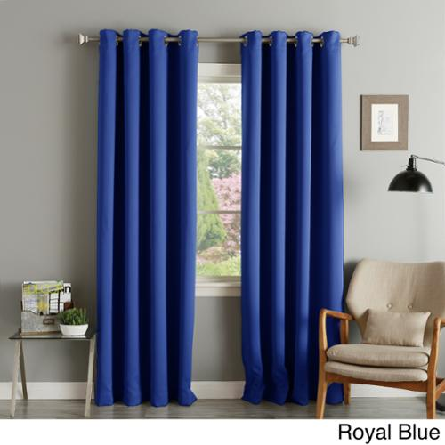 How To Make Your Own Shower Curtain Electric Blue Blackout Curta