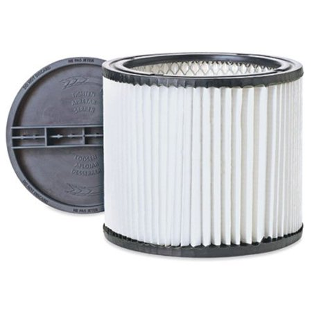 Shop-Vac 9030700 Cleanstream High Efficiency Cartridge Filter, He90 high efficiency replacement cartridge clean stream filter, for shop-vac brand wet/dry vacuums 5.., By ShopVac