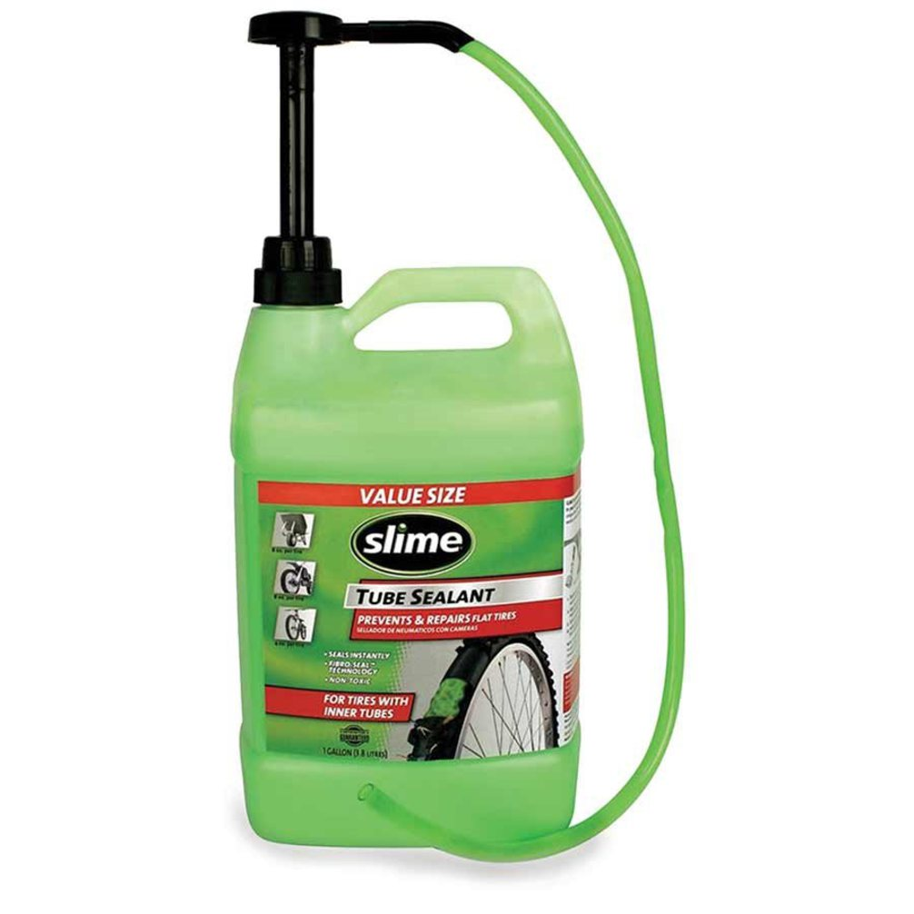 Slime Tube Sealant- For All Tires with Tubes