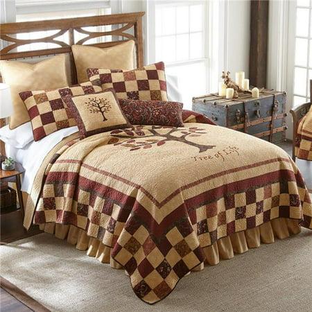 American Heritage Textiles Z52646 Ensemble de couette 3 pi-ces en coton, automne, 90 x 90 po, multicolore - Grandeur - image 1 de 1