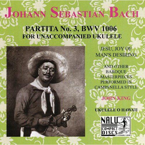 J.S. Bach: Partita No. 3, Bwv 1006 For Ukulele