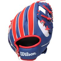 "Wilson 10"" Youth, MLB T-Ball Glove, Right Hand Throw"