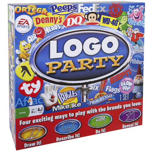 Spin Master Logo Party Game