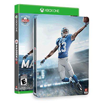 Madden Nfl 16   Steelbook  Amazon Exclusive    Xbox One