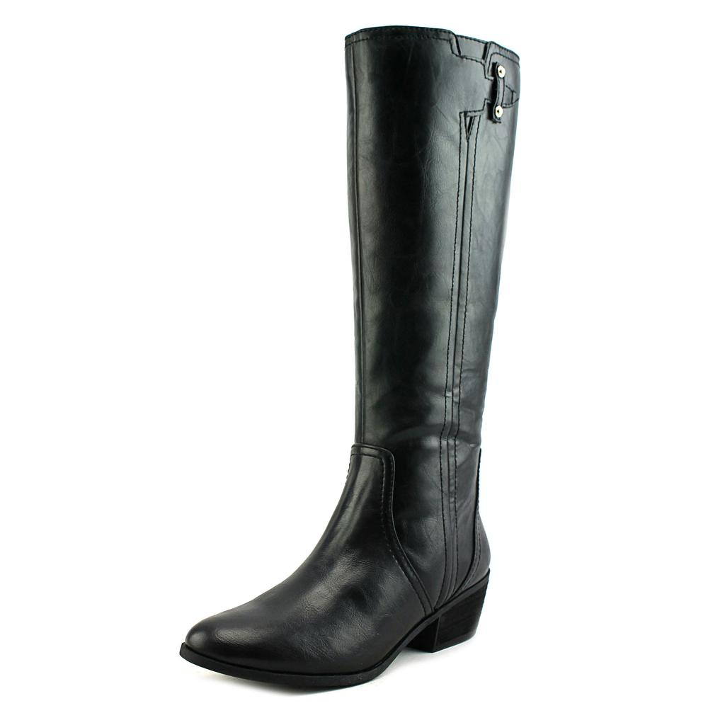 Dr. Scholl's Brilliance Round Toe Leather Knee High Boot by Dr. Scholl's