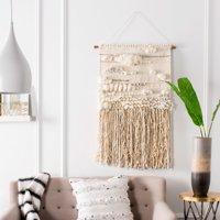 Safavieh Sedona Danley Bohemian Woven Wall Tapestry, Cream