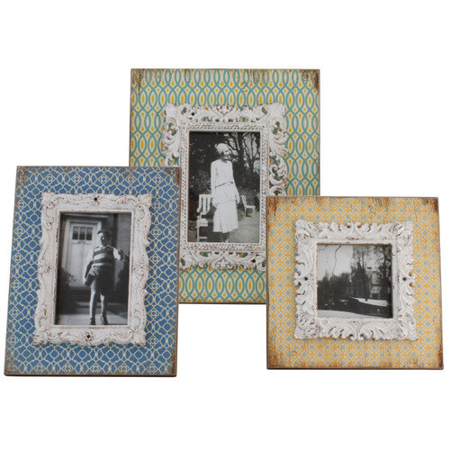Selectives 3 Piece Margaery Picture Frame Set