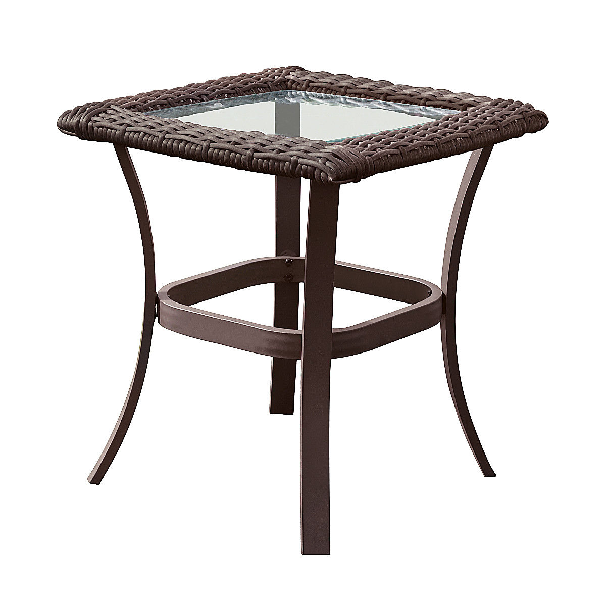 Gymax 3PC Patio Rattan Wicker Furniture Set Cushioned Outdoor Garden - image 2 of 8