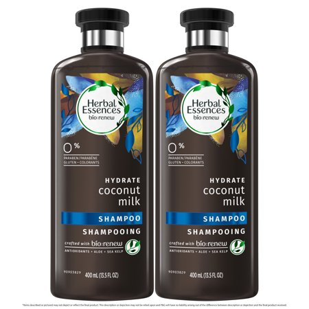 Herbal Essences Bio:renew Coconut Milk Shampoo, 13.5 Fluid Ounces (Pack of 2)