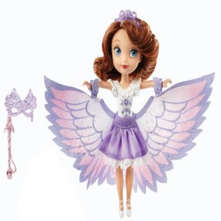 Disney Sofia The First 2-In-1 Costume Surprise Sofia Swan Dress