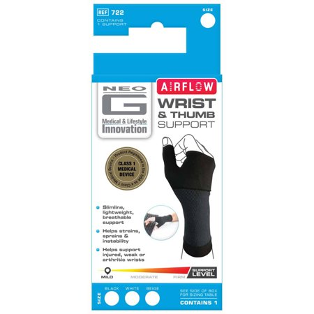 Neo G Airflow Wrist   Thumb Support