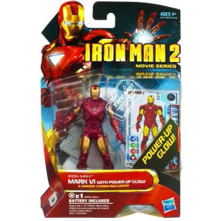 Iron Man 2 Movie Series Iron Man Mark VI With Power Up Glow 4