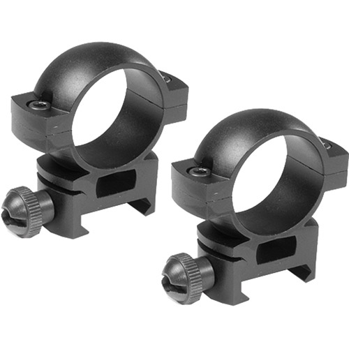 "Barska 1"" High Weaver-Style Scope Rings"