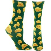 Packers Cheese Crew Socks