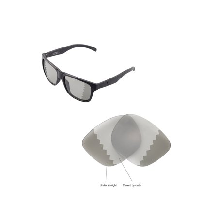 Walleva Transition Polarized Replacement Lenses for Smith Lowdown (Transition Lens Cost)