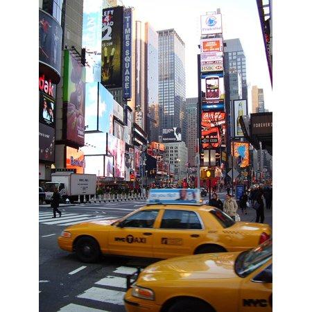 Laminated Poster America York City New Urban Dongore Newyork USA Poster Print 11 x 17 ()