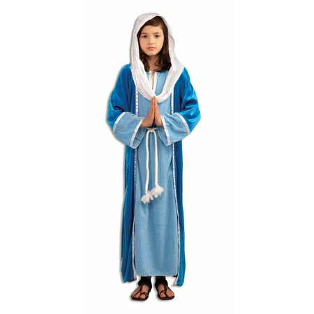 Mary Girl's Deluxe Costume - Christmas Costume For Girls