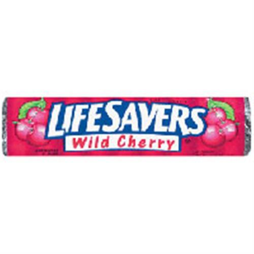 Lifesavers Wild Cherry Candy 20 pack (14 ct per pack) (Pack of 6)