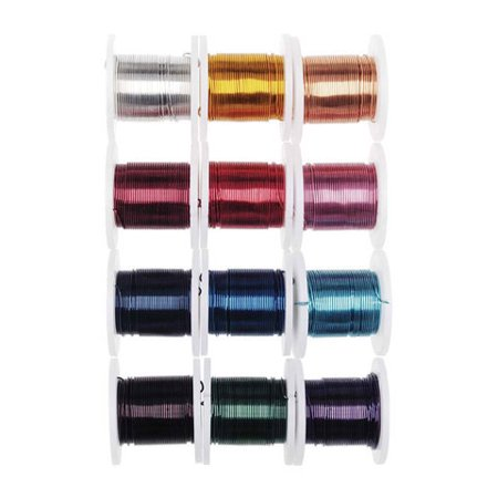 26 Gauge Craft Wire: Dark Colored Craft Wire Assortment