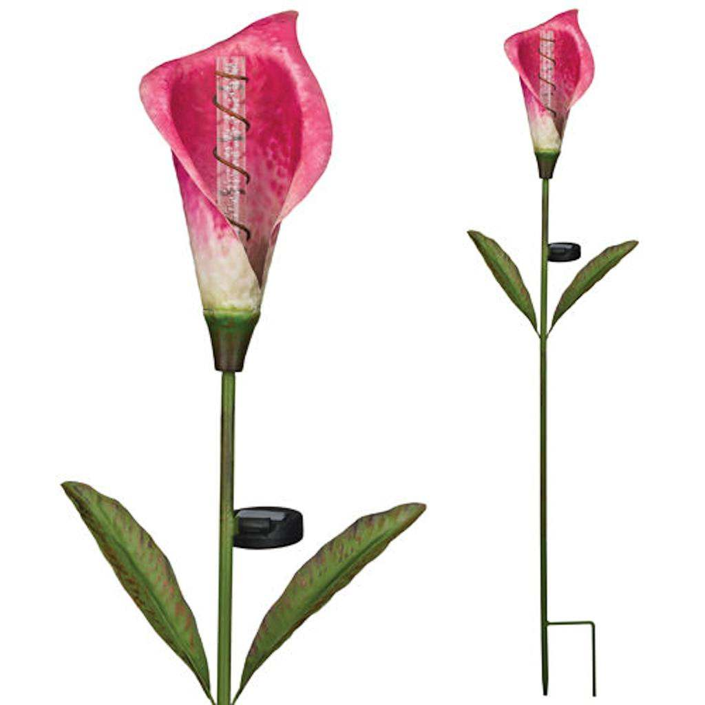 "Regal Art  and  Gift 11252 - 41.5"" x 10"" Calla Lilly Garden Stake Solar LED Light"