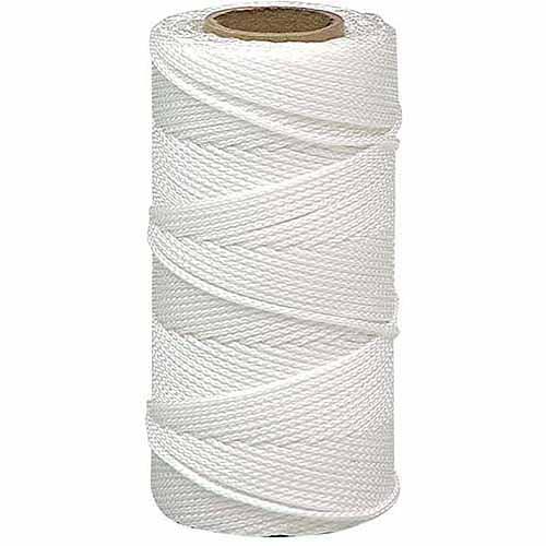Lehigh Group BNT12W6 500' #18 White Nylon Mason Line Twine
