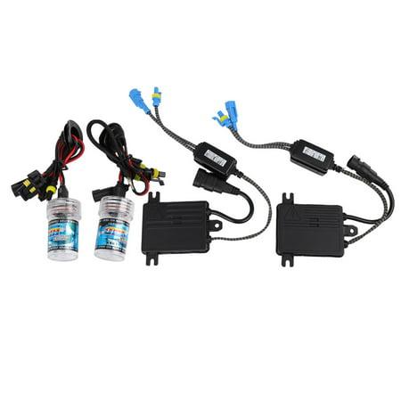 2 Pcs 35W 6000K HID Xenon Headlight Conversion Kit Bulb Light Lamp H11 H8 H9 for Car
