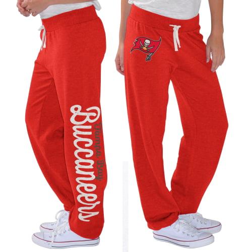Tampa Bay Buccaneers G-III 4Her by Carl Banks Women's Scrimmage Fleece Pants - Red